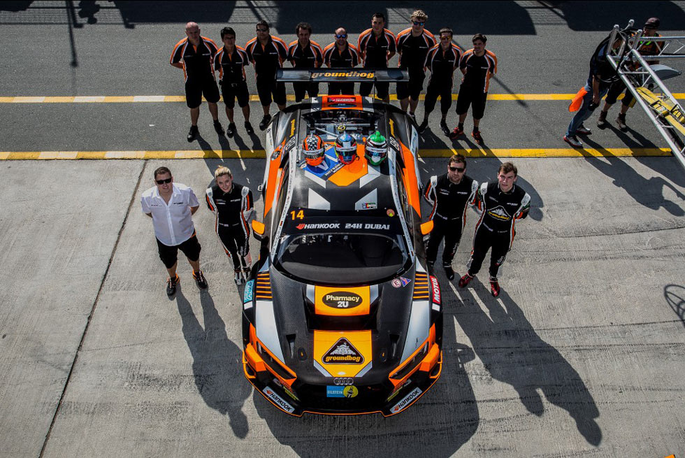 OPTIMUM SHOWS DEPTH AND QUALITY WITH FOURTH PLACE ON GT3 DEBUT IN DUBAI 24 HOURS
