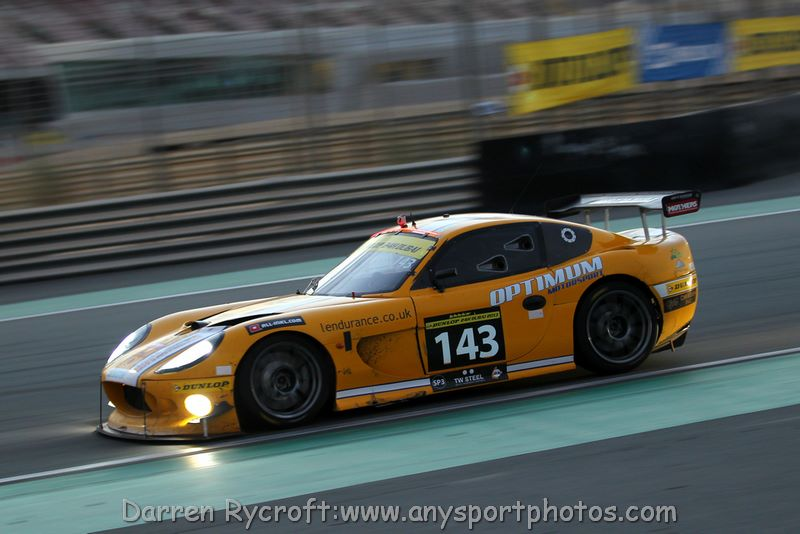 OPTIMUM MOTORSPORT FINISH 27TH OVERALL AT DUBAI 24HR