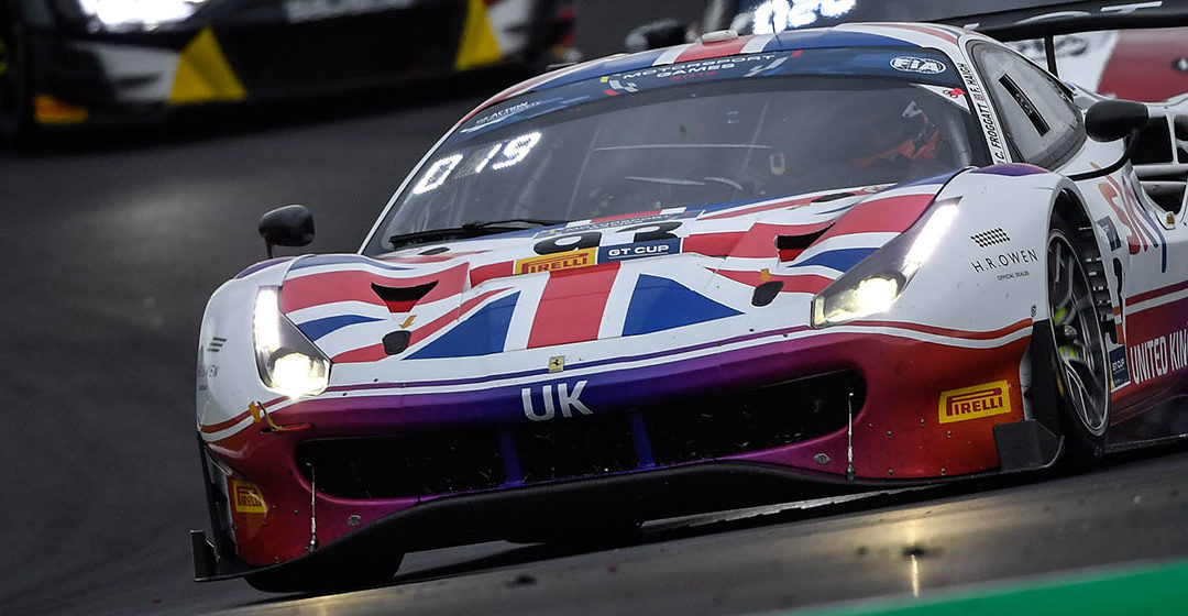 Fifth place for Team UK in Race-1 at Vallelunga